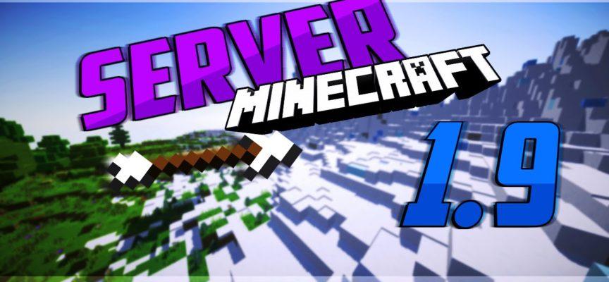 Скачать сервер minecraft 1.9
