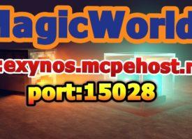 Сервер MCPE MagicWorld