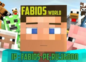 Сервер Minecraft PE | Fabios World pvp 0.16.0