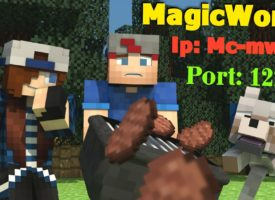 Survival Magic World сервер 1.0.0 — 1.0.3